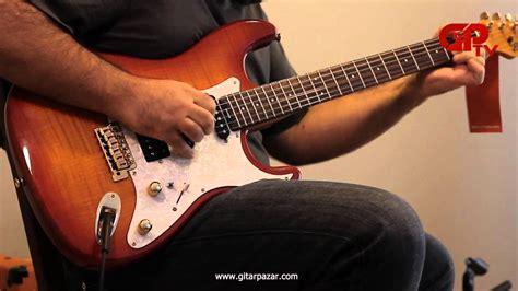 Gitar Akustik Elektrik As Raisha Cherry blade deluxe rosewood elektrik gitar cherry sunburst