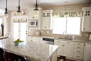 Colors For Kitchens With White Cabinets The Granite Color With The White Cabinets Inspiration For Our Upcoming Kitchen Remodel
