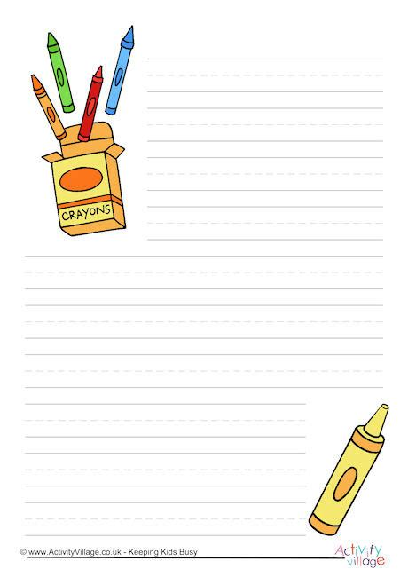 crayons that only write on paper crayons writing paper