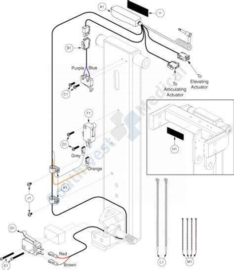wheelchair wiring harnes complete wiring schemas