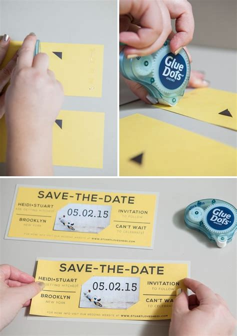 diy save the date card for magnets template 17 best images about invitation cards on