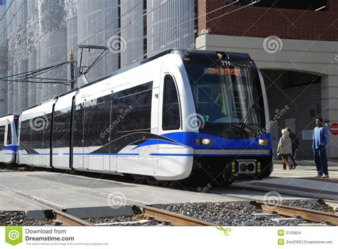 Light Rail System by Light Rail Transit System Stock Images Image 3743824