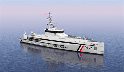 jamaica fire boat trinidad and tobago coast guard contracts damen for fleet