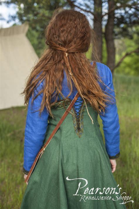 viking dress  apron ingrid  hearthkeeper