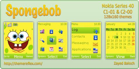 themes hd c1 themes for mobile nokia c101