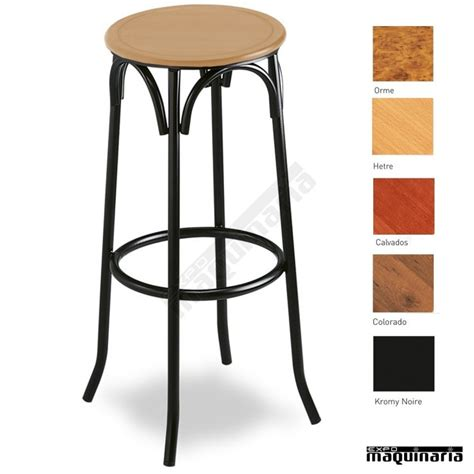 taburetes bar madera taburete bar 5r01 asiento madera de interior tubo acerado