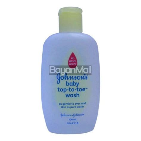 Johnson S Top To Toe Wash 400 Ml johnson s baby top to toe wash 100ml