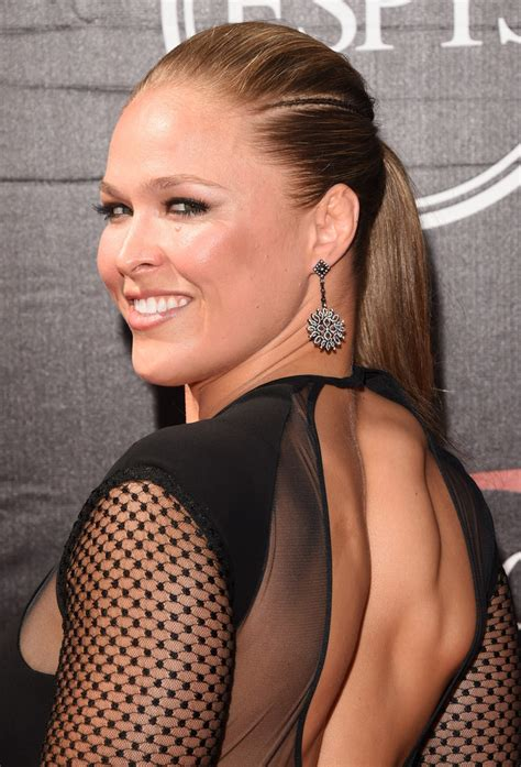 ronda rousey hairstyles ronda rousey ponytail hair lookbook stylebistro