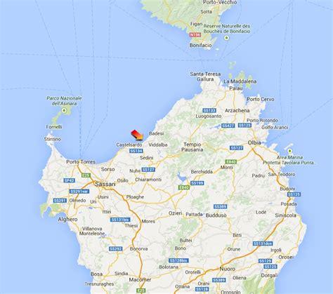 mappa porto torres reise informationen new kayak sardinia valledoria