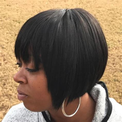 short bob weave with a woman wearing a bathing suit 35 short weave hairstyles you can easily copy
