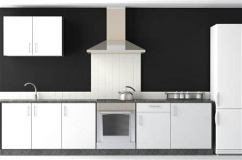Kitchen Paint Colors With White Cabinets And Black Granite by Black And White Kitchen Ideas Lovetoknow