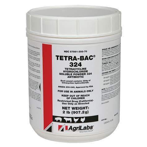 tetracycline hydrochloride soluble powder 324 qc supply
