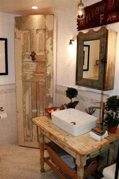 Rustic Bathroom Ideas Pinterest 1000 Ideas About Rustic Bathrooms On Pinterest Rustic