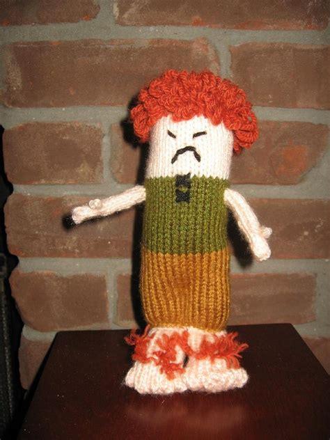 bad knitting bad hobbit knitting pattern by claireknits knitting