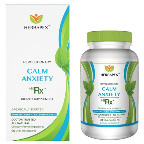 Anti Anxiety For Detox by Calm Anxiety Hbrx Alternative To Anti Anxiety Drugs