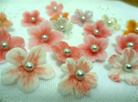 fiore di zucchero fiori in pasta di zucchero con venature