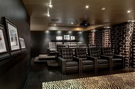 home entertainment design nyc franklin lakes residence contemporary home theater