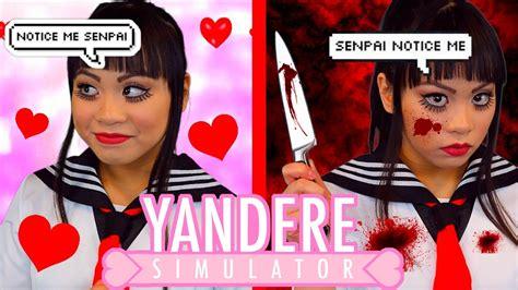 Eyeliner Me notice me senpai quot yandere simulator quot and makeup tutorial