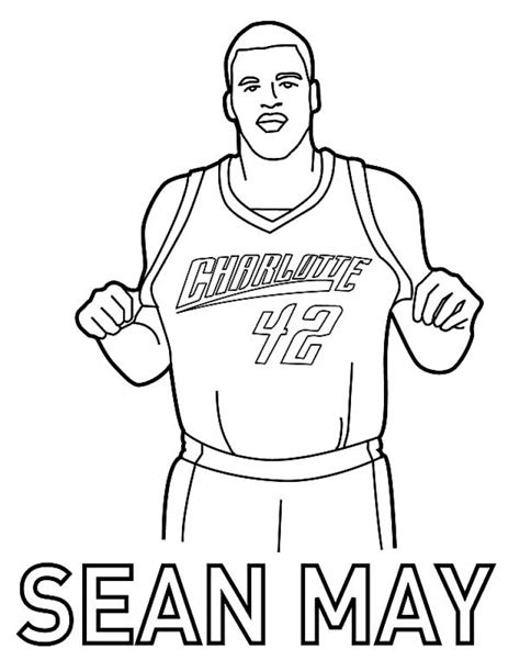 coloring page of basketball jersey get this online printable nba coloring pages 4g45s
