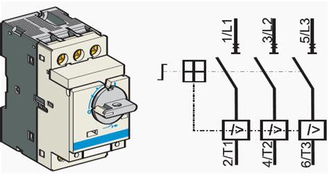 magnetic contactor symbol