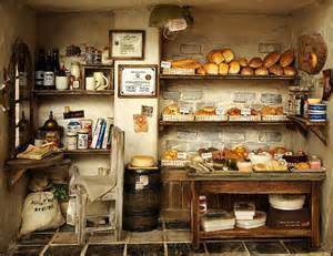 the bakery vintage country small bread shop handmade
