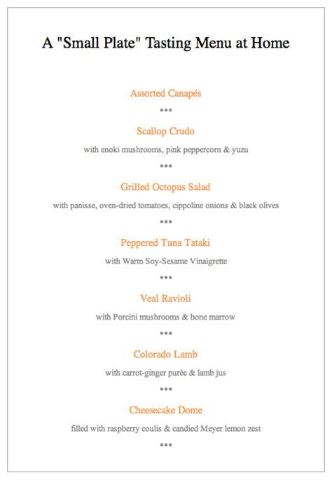 fancy dinner menu 28 images the decorating dork menu