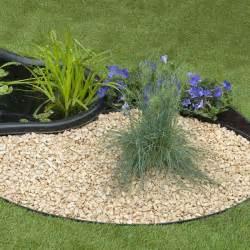 bordure de jardin bordure de jardin 9cm x 5 m granulart