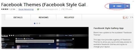 facebook theme google chrome extension how to change facebook theme home page
