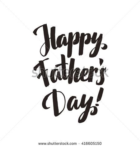 Gelas Motif Happy Fathers Day get on your shoes ink stock illustration 589211450