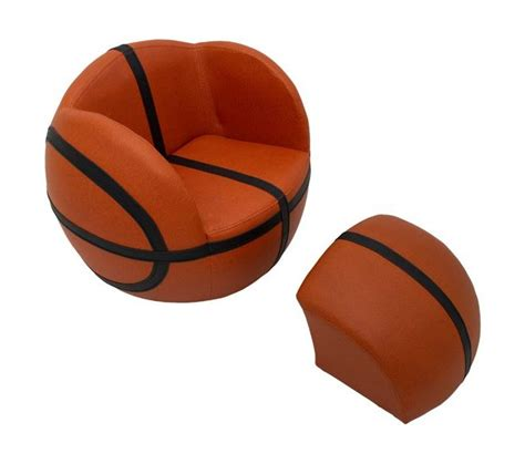 basketball chair and ottoman basketball upholstered chair with ottoman stargate cinema