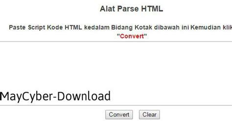 blogger parser cara membuat dan memasang kolom parse html di blogger
