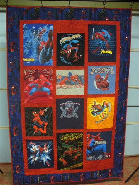 pattern for spiderman quilt spiderman quilt and spider man on pinterest