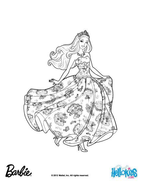 Barbie Is Princess Tori Coloring Pages Hellokids Com Popstar Coloring Pages