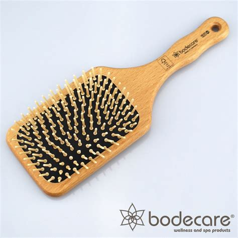 Bodecare Detox Brush by Bodecare Wide Paddle Fsc Scalp Hair Brush Oh
