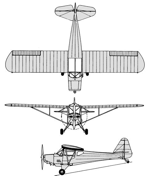 3 Drawing Views by File Fleet Canuck 3 View Drawing Jpg