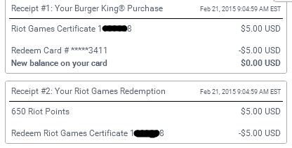 League Of Legends Subway Gift Card - earn 3 450 free riot points every month with swag bucks the cake is not a lie