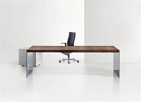 simple white office desk