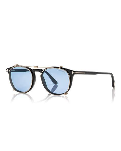 tom ford optical frames w clip on sunglasses shades