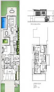 narrow lot floor plans 17 best ideas about narrow house plans on