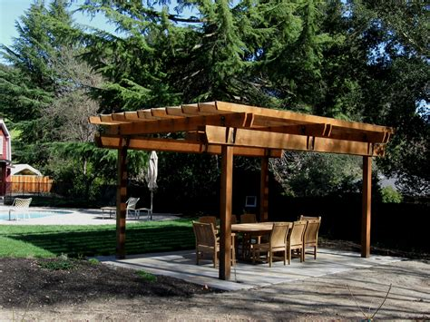 backyard pergola modern simple pergola and gazebo design trends attached to