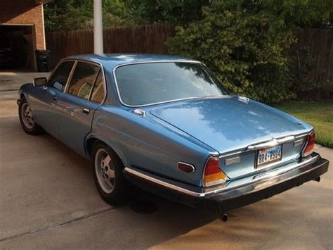 purchase used 1984 jaguar xj6 vanden plas in college
