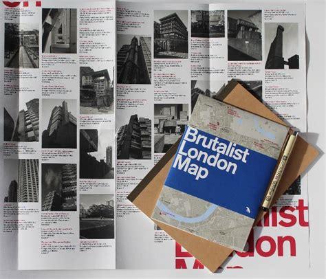 brutalist london map brutalist london map 2015 stanfords