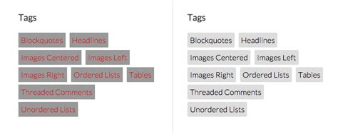wordpress different layout per category display and style wordpress tag cloud widget with