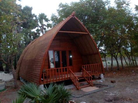 jual rumah lumbung gazebo gasebo  rumah lombok kayu