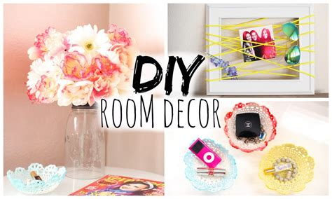 cute home decor for cheap diy room decor for cheap simple cute youtube