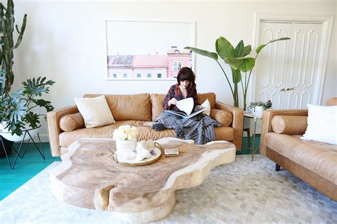 sven charme tan sofa elsie s living room tour before after a beautiful mess