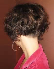 stacked in back brown curly hair pics 25 best ideas about curly stacked bobs on pinterest