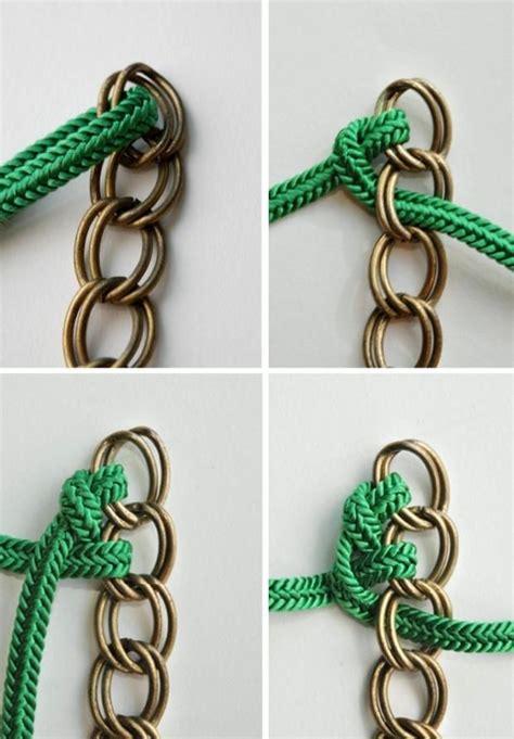 tutoriales de bisuteria diy como hacer paso a paso una las 25 mejores ideas sobre collar de nudos en pinterest