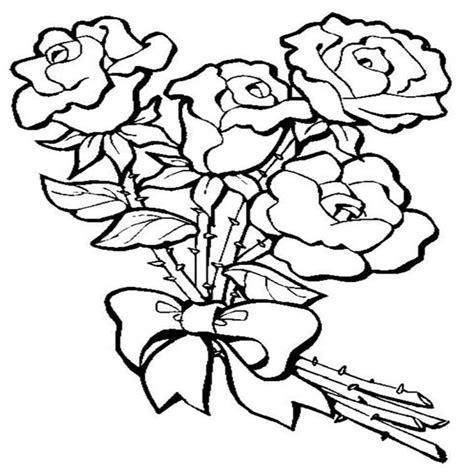 Dibujos Para Colorear Flores 3 Dibujos Para Colorear