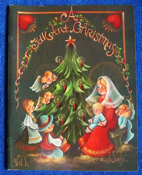 folk art pattern books a folk art christmas painting pattern book jo sonja jansen